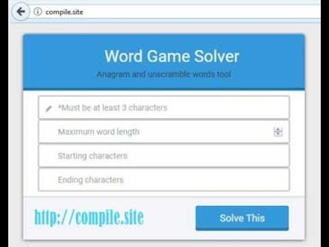 find words with letters