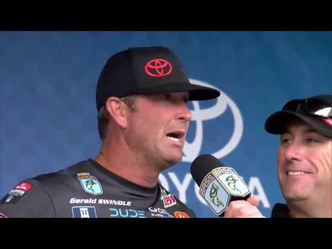 Gerald Swindle wins 2016 Toyota Bassmaster Angler of the Year