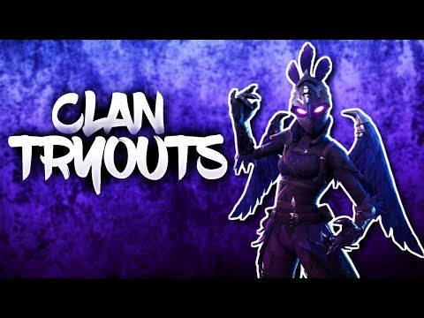 pro fortnite clan clan tryouts in game performance ps4 pc xbox - xbox fortnite clan