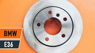 Comment remplacer des disques de frein avant et plaquettes de frein avant sur une BMW 3 E36