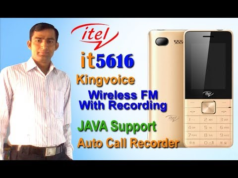 Unboxing and Review of Itel it5616 Mobile Phone | Wireless FM with  Recording | Java Support