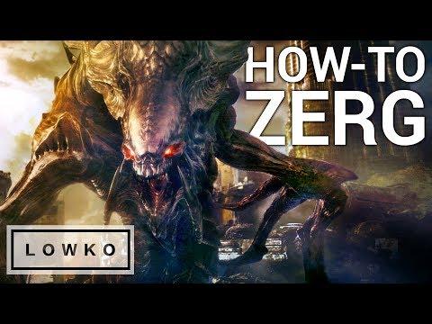 StarCraft 2: HOW-TO PLAY ZERG!