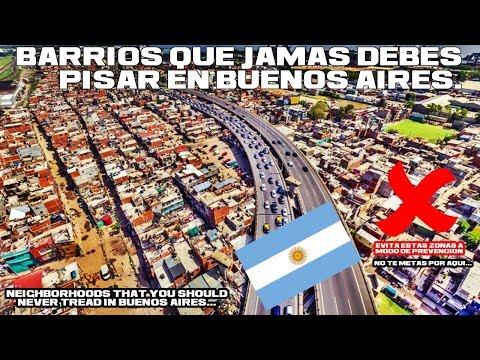 Zonas peligrosas de Buenos Aires | Guia Orientativa