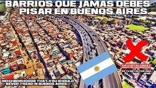 Zonas peligrosas de Buenos Aires   Guia Orientativa