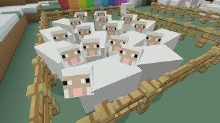 Minecraft Xbox - Rainbow Sheep Challenge - Part 1