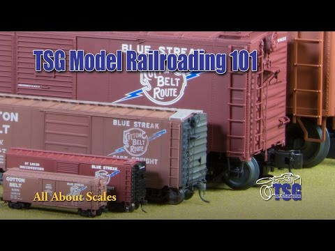 Model Railway Toy Train Scenery -101 Ep. 1 All About Scale For Beginners
