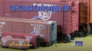 Model Railroading 101 Ep. 1 All About Scale For Beginners