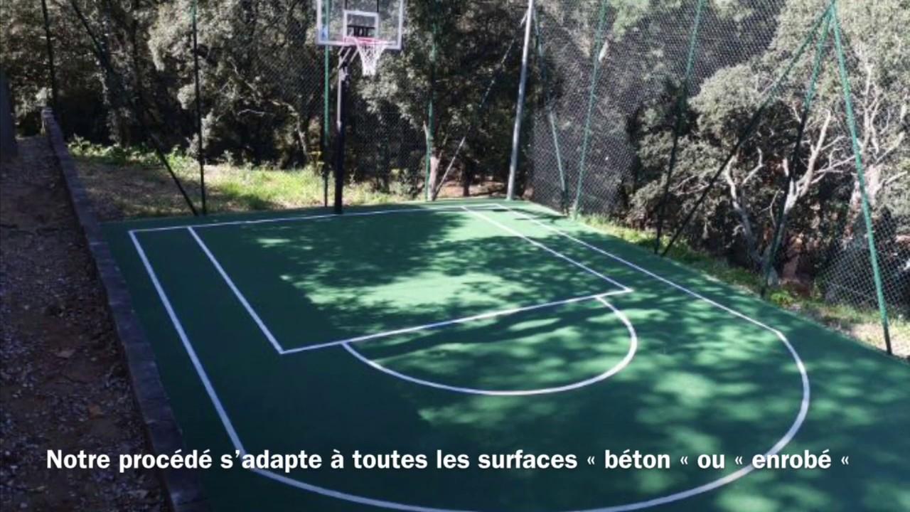 Sol Terrain De Basket terrain multisport etd tradisport 10 mm sol souple de grand confort pour la  pratque des sport