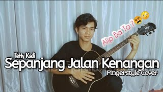 Tetty Kadi - Sepanjang Jalan Kenangan ( guitar solo cover )