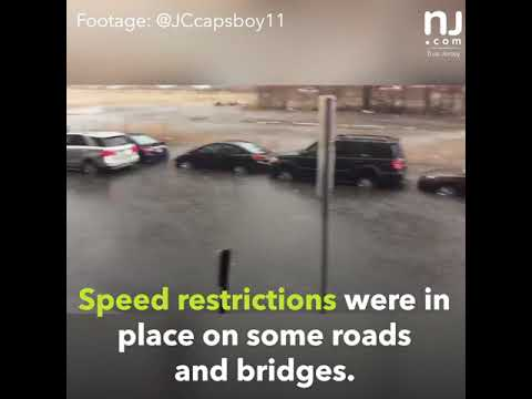 Flash floods jam traffic as rough weather lashes N.J.