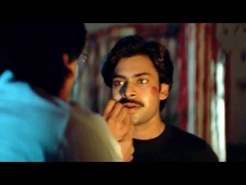 Heart Touching Scene Between Ganesh And His Father From Suswagatham Movie - Pawan Kalyan
