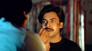 heart touching scene between ganesh and his father from suswagatham movie pawan kalyan