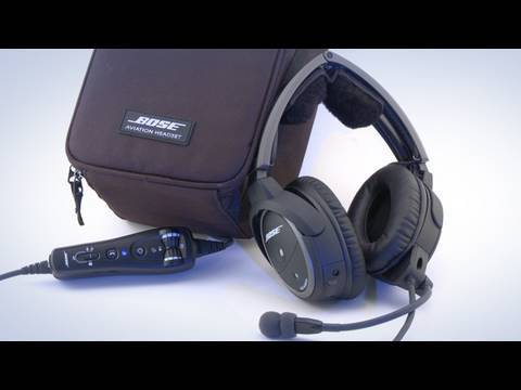 All New Bose® A20™ Aviation Headset from Sporty's Pilot Shop