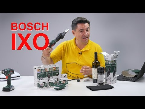 UNBOXING & REVIEW - BOSCH IXO - Unealta universală