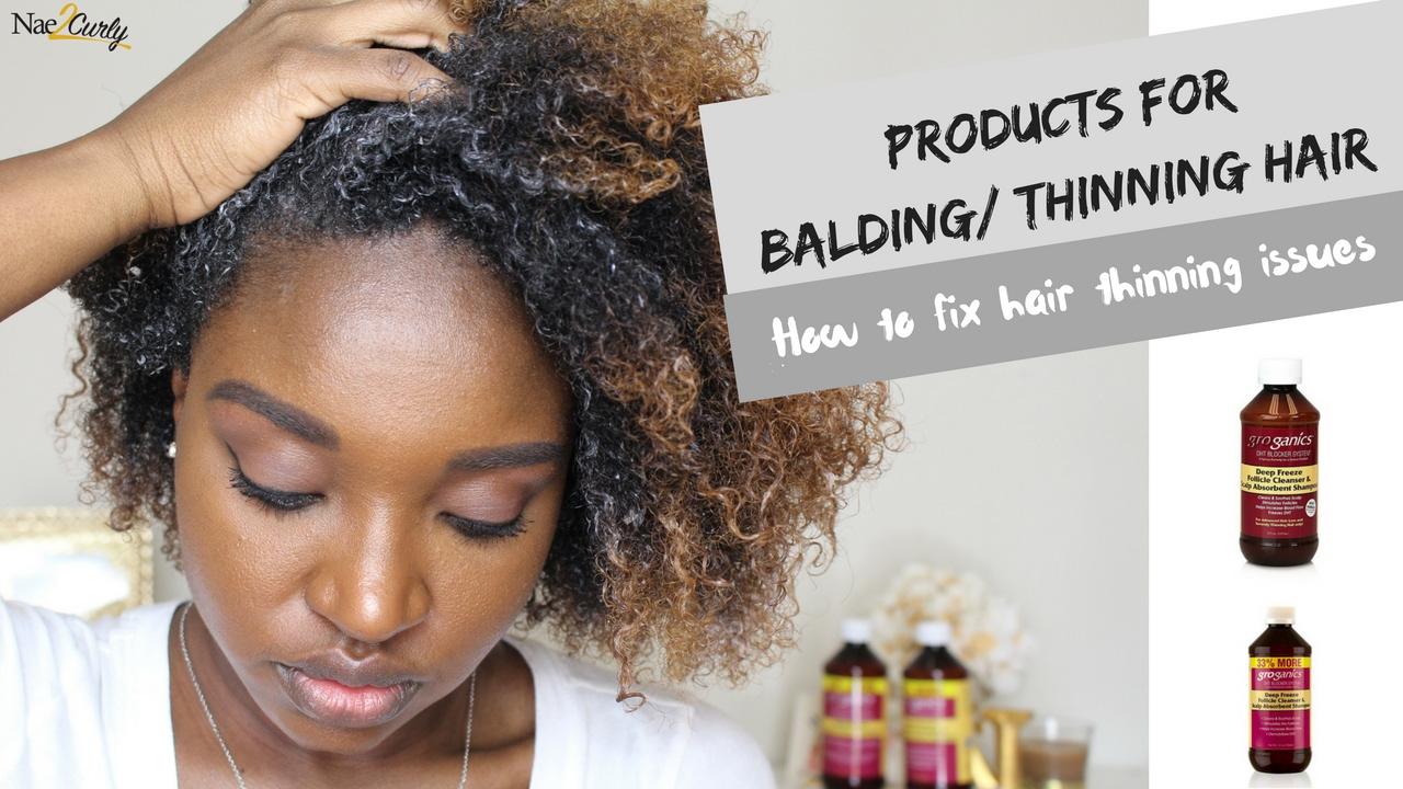 How to Help Thinning Hair | Groganics DHT Blocker System