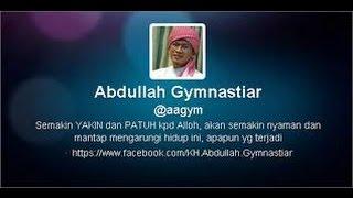 aa gym 7 juni 2016 ramadhan jangan sampai bocor amal kita