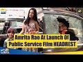Amrita Rao At The Launch Of Public Service Film HEADREST