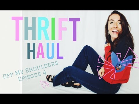 Thrift Haul! Off My Shoulders Ep. 4 (Try-on Vintage Nike & Polo!)
