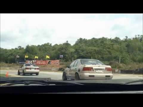 GA15DE Sunny on track : Nissan Trackday KaengKrachan Circuit แก่งกระจาน เซอร์กิต 2014 Round 1