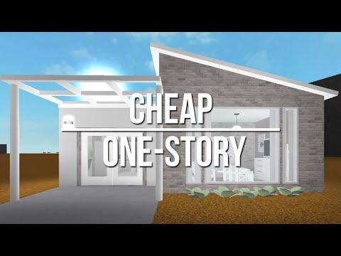 Roblox Welcome To Bloxburg Cheap One Story 18k Youtube