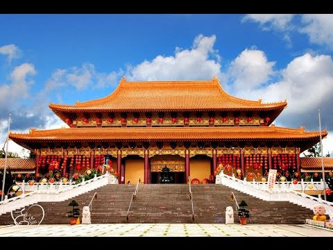 A Walk Around The Hsi Lai Buddhist Temple, Hacienda Heights, Greater Los Angeles