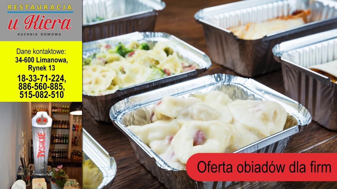 Restauracja Organizacja Komunii Kuchnia Domowa Limanowa Restauracja U Kiera