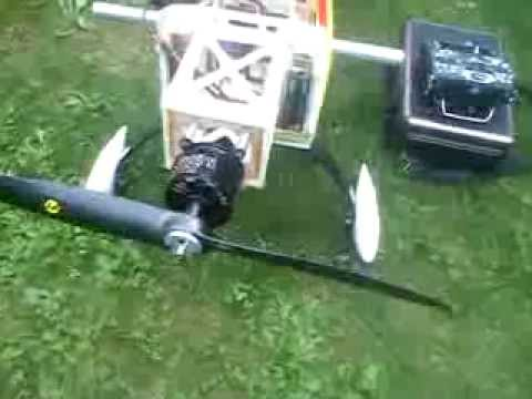 Test Turnigy ROTOMAX 50cc 5,3kw