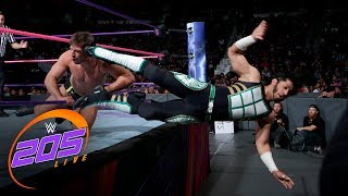 Mustafa Ali vs. Drew Gulak: WWE 205 Live, Oct. 3, 2017