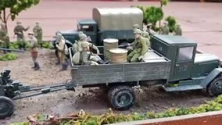 Диорама посвященная Второй мировой войне 1941-1945 годов