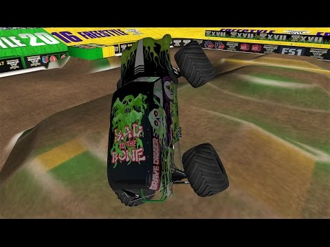 20 Grave Digger Trucks World Finals 17 Freestyle - Monster Jam Rigs of Rods