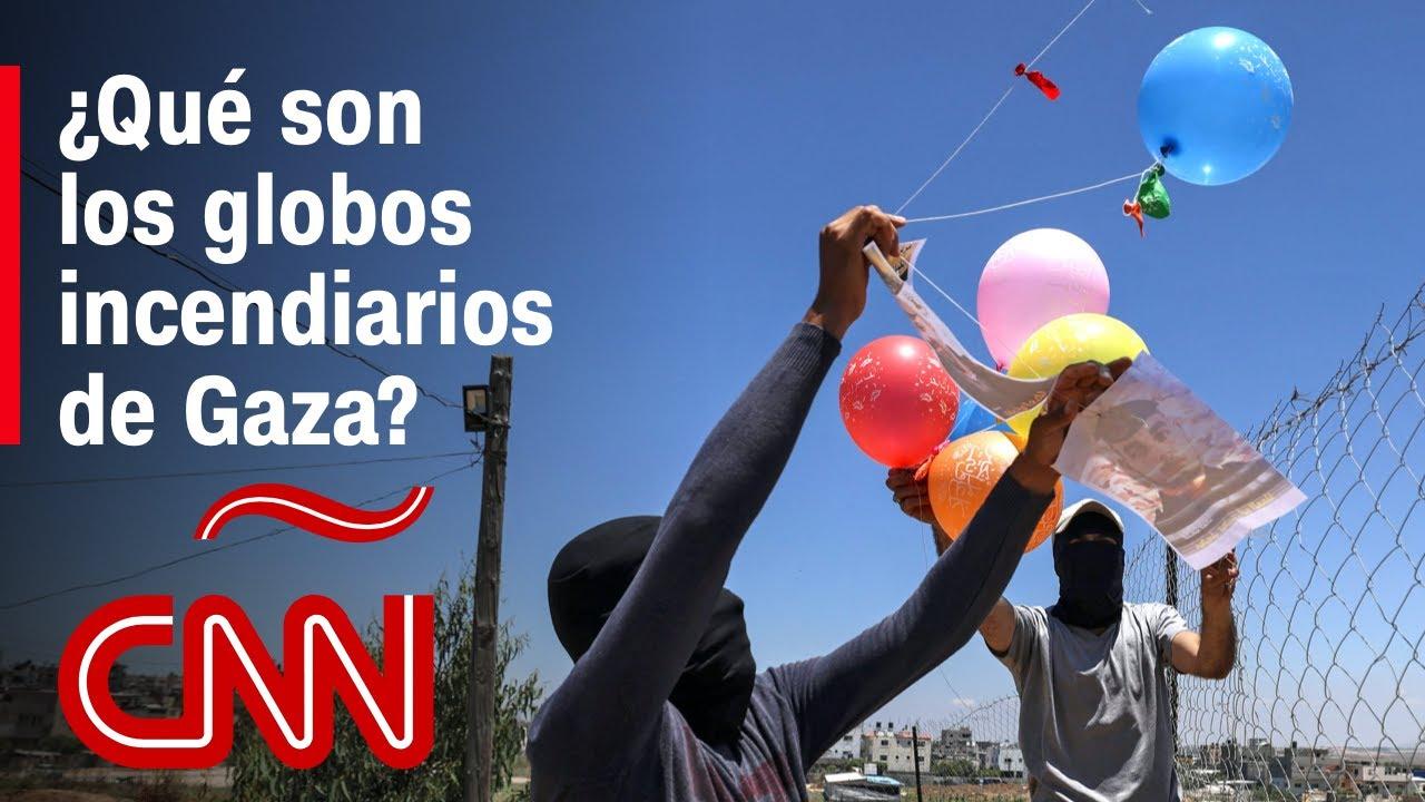¿Qué son los globos incendiarios que aumentaron la tensión entre Israel y Hamas?