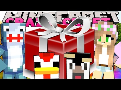 Minecraft: CRAZY CRAFT 3.0 - GIVING THE ATLANTIC CRAFT A PRESENT!