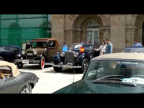 El rally de coches clásicos Terras do Incio 'pasa' por Lugo