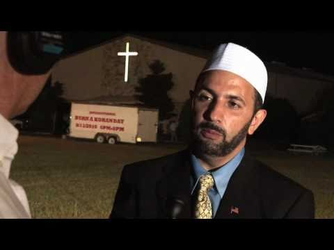Florida Imam meets with Pastor Terry Jones to dissuade him from burning Quran