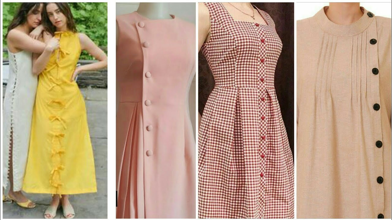 Outstanding Simple Dress Summer casual collection of womens and girls