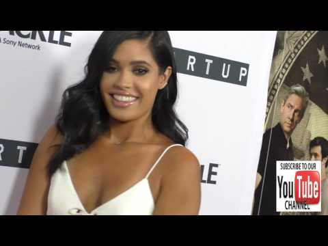 Otmara Marrero at the Premiere Of Crackle's Startup at London Hotel in West Hollywood