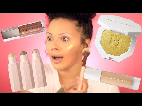 WORTH THE HYPE? FENTY BEAUTY REVIEW DRAFT | VIVA_GLAM_KAY