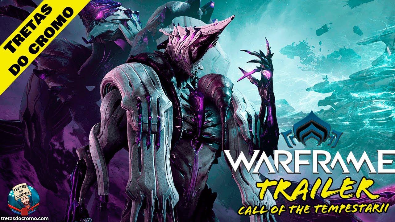 Warframe: Call of the Tempestarii é a última atualização do jogo