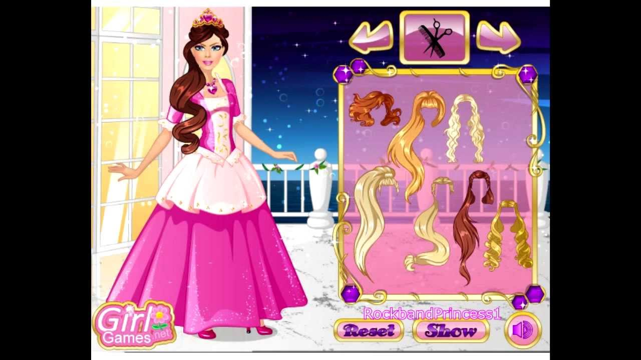 Barbie Princess Dress Up Game Barbie Games For Girls To Play Youtube