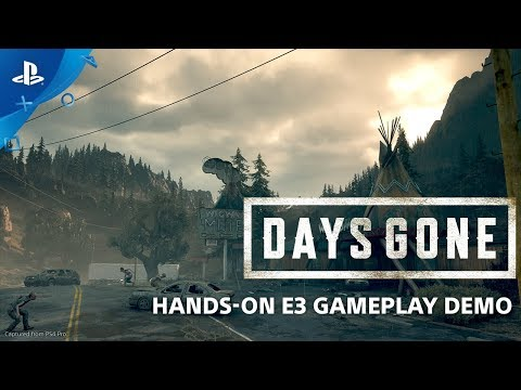 Days Gone E3 2018 HandsOn Gameplay  PlayStation  From E3