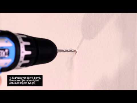 Fantastisk Clas-TV: Borra i betong - YouTube RP-56