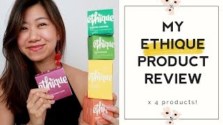 PRODUCT REVIEW 🌺 | My favourite & least favourite Ethique products 我最喜歡的洗澡產品
