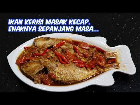 Ikan Kerisi Masak Kecap Enaknya Sepanjang Masa Youtube