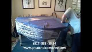 Great Choice Moving-Moving a Baby Grand Piano