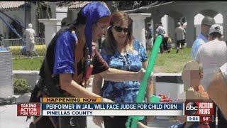 Children's entertainer faces child porn charges