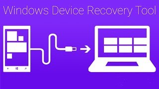 how to install windows device recovery tool