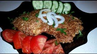 Очень вкусные , сочные отбивные из индейки с сыром!!!###Delicious , juicy chops Turkey with cheese!!
