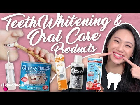 Teeth Whitening And Oral Care Products Tried And Tested Ep157
