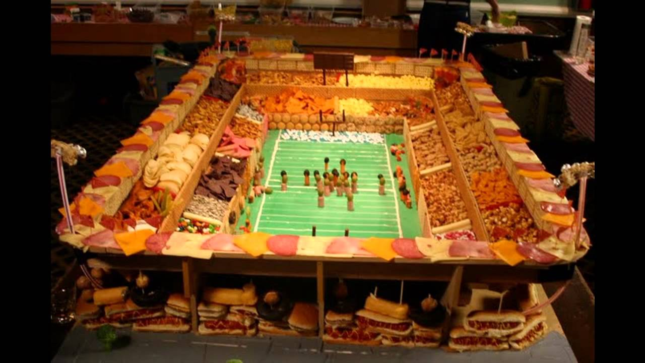 Cool super bowl party decorations youtube for Super bowl party items