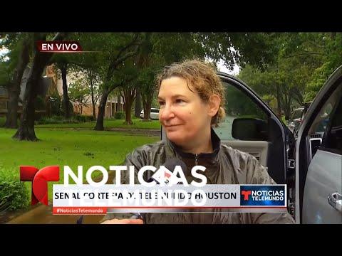 EN VIVO: La tormenta Harvey continúa su paso por Texas | Noticiero | Noticias Telemundo